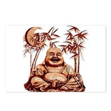 Riyah-Li Designs Happy Buddha Postcards (Package o