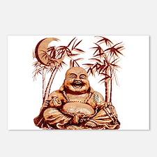 Riyah-Li Designs Happy Buddha Postcards (Package o