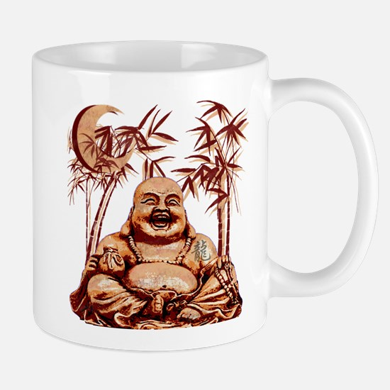 Riyah-Li Designs Happy Buddha Mug
