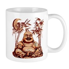 Riyah-Li Designs Happy Buddha Mug