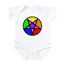 Gay Satanist Infant Bodysuit