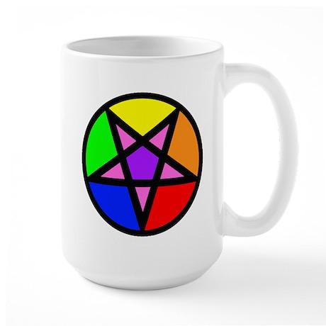 Gay Satanist Large Mug