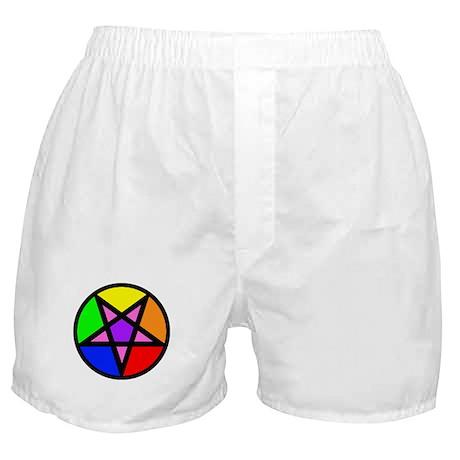 Gay Satanist Boxer Shorts
