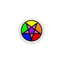 Gay Satanist Mini Button