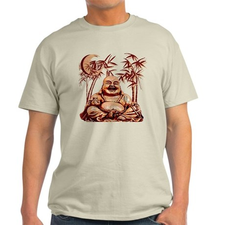 Riyah-Li Designs Happy Buddha Light T-Shirt