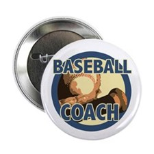 "Baseball Coach 2.25"" Button"