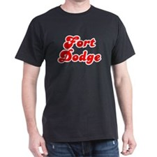 Retro Fort Dodge (Red) T-Shirt