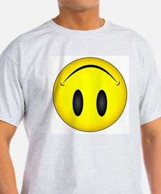 Upside Down Happy Face T-Shirt