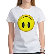 Upside Down Happy Face Tee