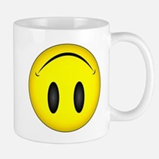 Upside Down Happy Face Mug