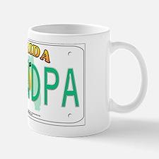 Grandpa Florida Vanity Plate Mug