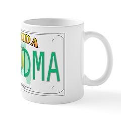Grandma Florida Vanity Plate Mug