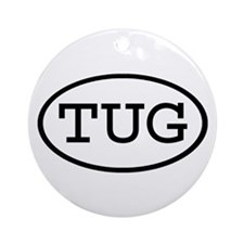 TUG Oval Ornament (Round)