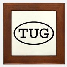 TUG Oval Framed Tile