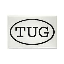 TUG Oval Rectangle Magnet