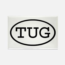 TUG Oval Rectangle Magnet