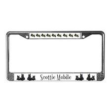 Spectacular Scottish Terrier License Plate Frame