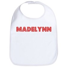 Retro Madelynn (Red) Bib