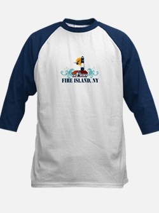 Fire Island Kids Baseball Jersey