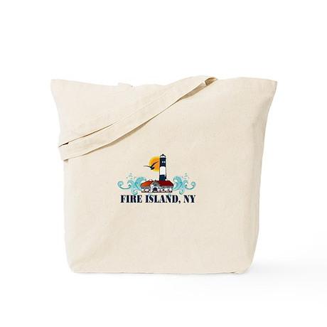 Fire Island Tote Bag
