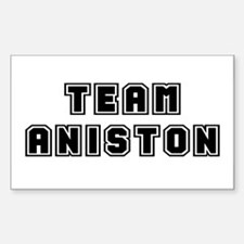 Team Aniston Rectangle Decal