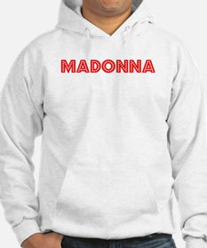 Retro Madonna (Red) Hoodie