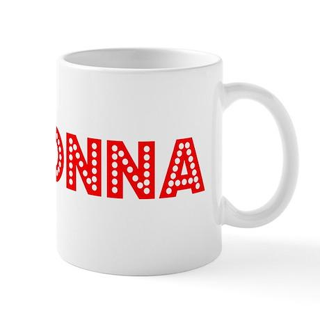 Retro Madonna (Red) Mug
