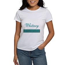 Whitney - Tee