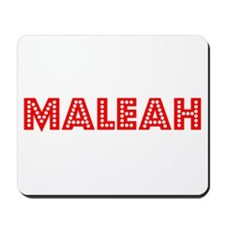 Retro Maleah (Red) Mousepad