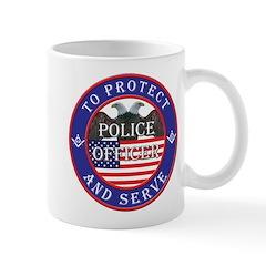 Mason Police Officer Mug
