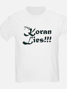 The Koran Lies Kids T-Shirt