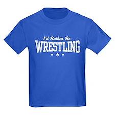 I'd Rather Be Wrestling T