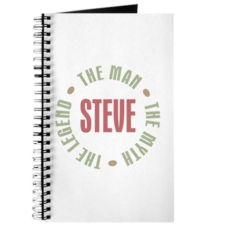 Steve Man Myth Legend Journal