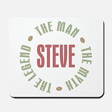 Steve Man Myth Legend Mousepad