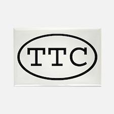 TTC Oval Rectangle Magnet