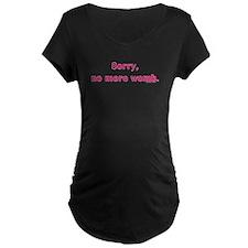 No More Womb T-Shirt