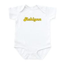 Retro Ashlynn (Gold) Infant Bodysuit