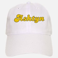 Retro Ashtyn (Gold) Baseball Baseball Cap