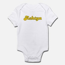 Retro Ashtyn (Gold) Infant Bodysuit
