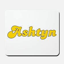 Retro Ashtyn (Gold) Mousepad