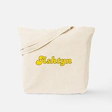 Retro Ashtyn (Gold) Tote Bag