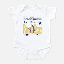 Twinkle Little Rock Star Baby Onesie