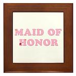 Gerber Maid of Honor Framed Tile