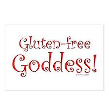 Gluten-Free Goddess Postcards (Package of 8)