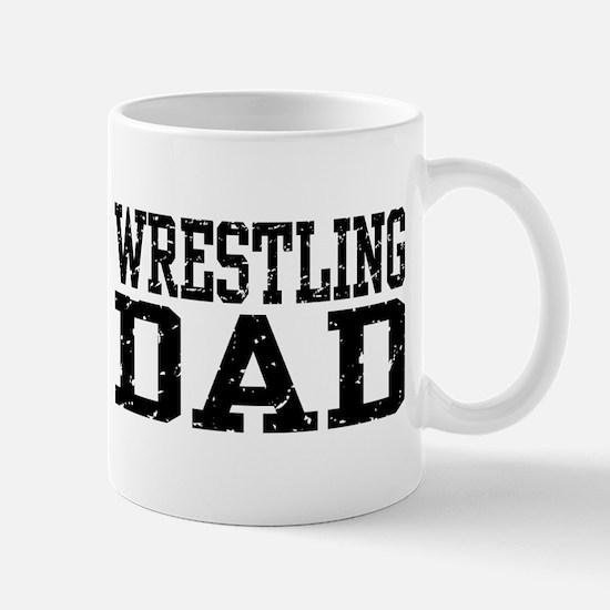 Wrestling Dad Mug