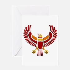 Egyptian Eagle Greeting Card