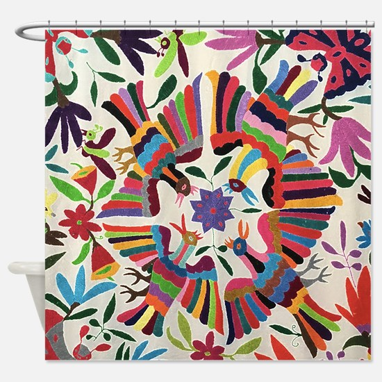 Otomi Birds Shower Curtain
