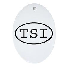 TSI Oval Oval Ornament