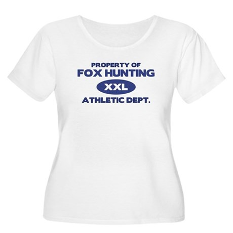 Fox Hunting Women's Plus Size Scoop Neck T-Shirt