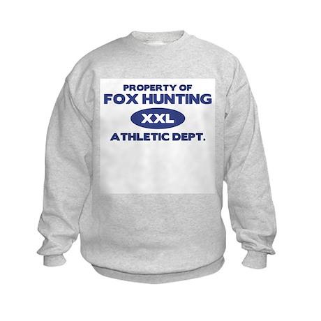 Fox Hunting Kids Sweatshirt